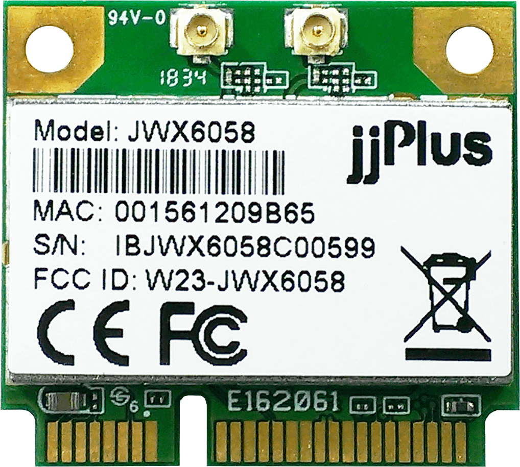 Wifi Modules 802.11ac MU-MIMO JWX6058