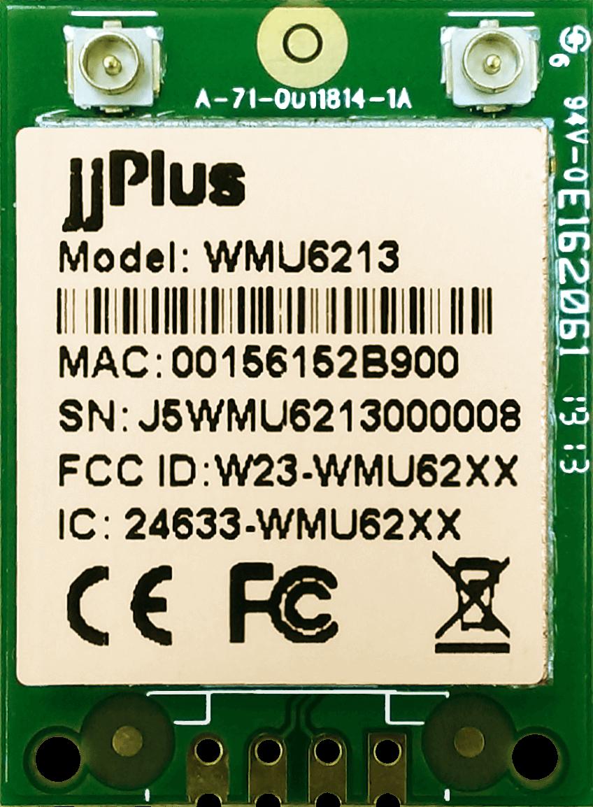 Wifi Modules 802.11ac MU-MIMO WMU6213