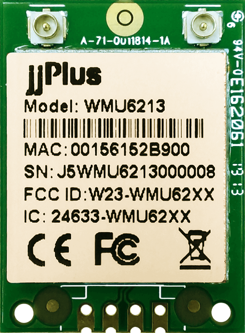 Wifi Modules 802.11ac MU-MIMO WMU6213