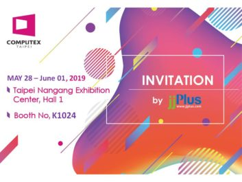 2019 Computex jjPlus Invitation