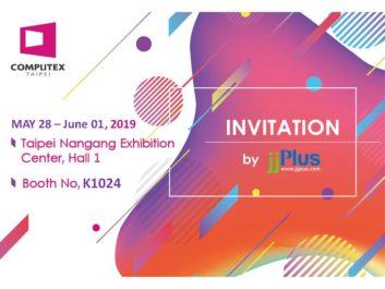 2019 Computex jjPlus Invitation