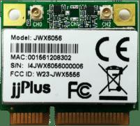 JWX6056 | 802.11ac/a/b/g/n_2×2@2.4/5GHz_QCA9882_PCIe 1.2_Mini PCIe_2 x U.FL Connector