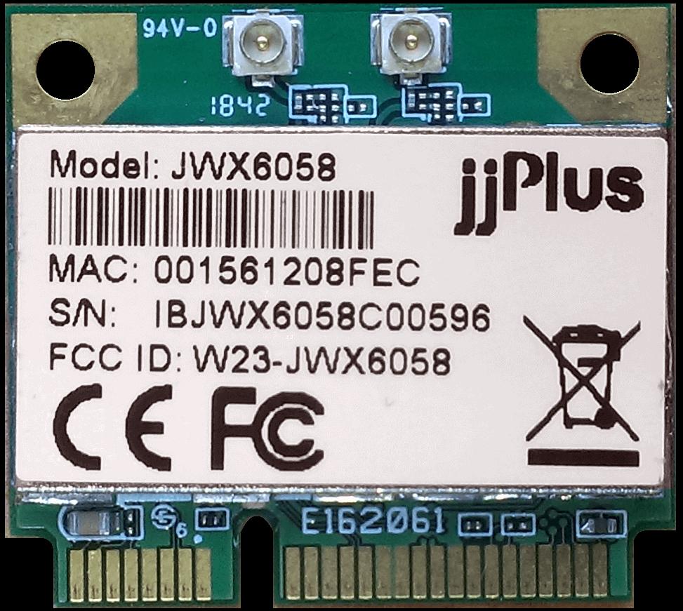 Wifi Modules 802.11ac MU-MIMO JWX6058