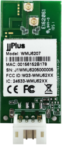 WMU6207 | 802.11ac/a/b/g/n MU-MIMO_2×2@2.4/5GHz_RTL8822BU_USB 2.0(WiFi + BT)_4 Pin Wafer_2 x PCB Antenna