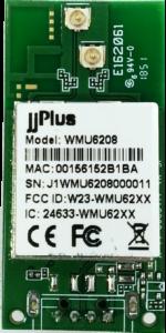 WMU6208 | 802.11ac/a/b/g/n MU-MIMO_2×2@2.4/5GHz_RTL8822BU_USB 2.0(WiFi + BT)_Pin Header_2 x U.FL Connector