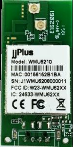 WMU6210 | 802.11ac/a/b/g/n MU-MIMO_2×2@2.4/5GHz_RTL8822BU_USB 2.0(WiFi + BT)_Pin Header_2 x PCB Antenna