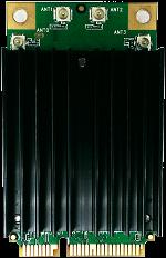 WMX6401 | 802.11ac/a/b/g/n Wave2 MU-MIMO_4×4@2.4/5GHz_QCA9984_4x U.FL connector/mini PCIe